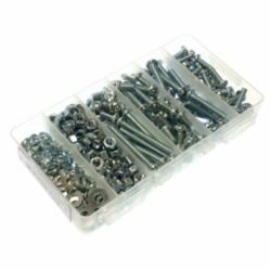 MET RSBK4 1/4-20 Rd Hd Combo Stove Bolt Kit Zinc