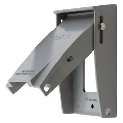 Hubbell Wiring Device-Kellems W/PROOF GFCI PLATE VERT CAST ZINC
