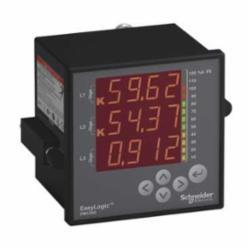 SQD METSEPM1200 Power Meter w/Display basic readings, THD, Dem