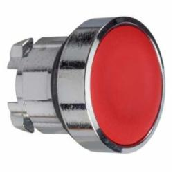 Schneider Electric ZB4BA4TQ PUSHBUTTON OPERATOR,22 mm,Harmony XB4,chromium plated metal,head for non-illuminated push-button,head for non-illuminated push-button,red,spring return