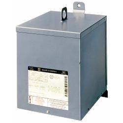 Square D 5S6F TRFMR DRY 1PH 5KVA 120X240V-120/240V,0,1 phase,115 Degrees C,120 x 240VAC,120/240VAC,180 deg.C,5 kVA,Dry Sealed Transformer,General Purpose - Intended for power, heating and lighting applications,NEMA 3R,Wall,cULus Listed