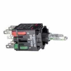 Schneider Electric ZB6ZB31B 16MM LT MOD GRN 65168-014,1 NO,12...24 V AC/DC,16mm,B300 - R300,Harmony XB6,LED,green,integral LED,complete body for illuminated push-button,complete body for illuminated push-button,slow-break
