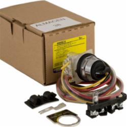 Square D 9999SC8 CONTACTOR+STARTER SELECTOR SW KIT NEMA,10A resistive,A600,Contactor+Starter Control Unit,Direct,Field installation of control unit,NEMA 1 Enclosures Selector Switch (HAND/OFF/AUTO),NO/NC,Pre series K- Size 4-7,100A-800A, post Series K all units,Schneider Electric screw terminals