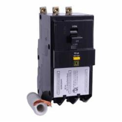 Square D QOB320GFI MINIATURE CIRCUIT BREAKER 208Y/120V 20A,10kA,20A,240 Vac,3-Phase,3P,Ground Fault Protecting (Class A 6mA) Bolt-On,Miniature Circuit Breaker,Pressure Plate #14 to #8 AWG(Al/Cu),QO,UL Listed - CSA Certified,not rated