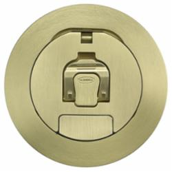 HUBW CFBS1R4CVRBRS S1R FB 4 COVER, BRUSHED BRASS PLATED
