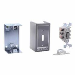 Square D 2510KG5 MANUAL SWITCH 600VAC K+OPTIONS,0.5 and 0.75 Inch Knockouts (top and bottom) Screw Clamp,1-Phase,2HP@115VAC - 3HP@230VAC - 7.5HP@460VAC - 10HP@575VAC,2P,30A,600VAC/230VDC,K,NEMA 1,Non-Reversing Manual Switch,Provides manual ON/OFF control