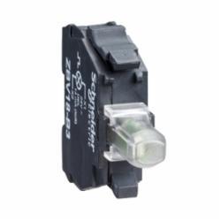 Schneider Electric ZBVJ1 PUSHBUTTON LIGHT MODULE 22MM 12V XB4,12 V AC/DC, 50/60 Hz,22mm,Harmony XB4-Harmony XB5,Screw Clamp,integral LED,protected LED,white,light block,light block