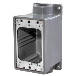 HUBW HBL6083 WATERTIGHT FD BOX, 3/4