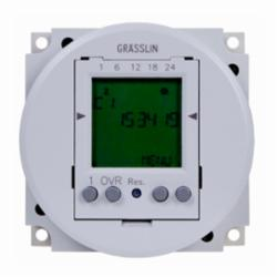 INT-MAT FM1D50-12U 24-Hour/7-Day Electronic Timer Module w/Automatic Daylight Saving Time Changeover, 12VDC