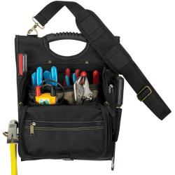 CLC 1509 21-POCKET ZIPPERED PRO ELEC TOOL POUCH