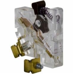 Square D 9999SX12 CONTACTOR+STARTER AUXILIARY CONTACT KIT,1 NC,3A,3A,Contactor+Starter Contact Block,Internal,NC Auxiliary contact kit,NEMA Size 00 thru 2,Schneider Electric Screw Clamp