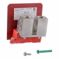 Square D SN400LA NEUTRAL ASSEMBLY INSULATED GROUNDABLE,400 A,NEMA 1/3R or NEMA 4/4X/5/12/12K,Neutral assembly,Powerpact H and J frame breakers,UL, CSA