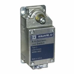 Square D L100WDL2M8 LIMIT SWITCH 600V 10AMP TYPE L +OPTIONS,-,-,fixed,-10...185 deg.F,1 entry for 1/2 - 14 NPT conforming to ANSI B1.20.1,fixed,2 NC,20 A,600V,Conduit Entrance (0.5 Inch NPT) Screw Clamp,L100/300,fixed,limit switch,rotary head,L300-L100,L300-L100,rotary head,severe duty mill,NEMA 1/4/13,NEMA A600/P600,Panel,UL Listed File Number 42259 CCN NKCR - CSA Certified File Number LR25490 - Class 3211-03 - CE Marked