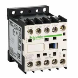 Schneider Electric CA2KN40M7 CONTROL RELAY 600VAC 10AMP IEC +OPTIONS,-25...50 deg.C,10 A at <= 50 deg.C,220/230VAC,4 NO,IP2x,Screw Clamp,TeSys,UL Listed File Number 164353 CCN NKCR - CSA Certified File Number LR43364 Class 3211 03 - CE Marked,control circuit,control relay,plate-rail