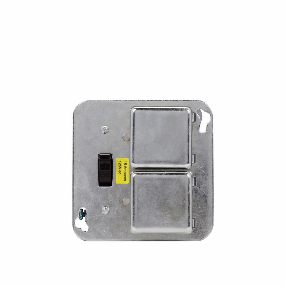 Sty 125 V Fuse Current Rating 15 Ampere Ul Buss Fusetron Box Cover Part Description Unit