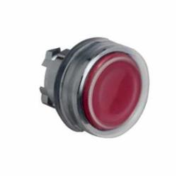 Schneider Electric ZB4BP48 NON-ILLUM BOOTED FOR LEGEND RED,22 mm,push-button,Harmony XB4,UL, CSA, IEC,chromium plated metal,head for non-illuminated push-button,head for non-illuminated push-button,push-button,red,red flush,spring return