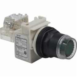 Schneider Electric 9001SK1L1A PUSHBUTTON 600VAC 10AMP 30MM SK +OPTIONS,30 mm,600V,Harmony,Illuminated,NEMA 1/2/3/3R/4/4X/6/12/13,No Contact Blocks,Panel,Pushbutton,UL File Number E42259 CCN NKCR - CSA File Number LR24590 Class 3211-03 - CE Marked,Water tight, Dust tight, Oil tight and Corrosion Resistant (Indoor/Outdoor),black plastic,unmarked,momentary