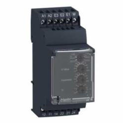 Schneider Electric RM35UA12MW VOLTAGE RELAY 250V 5AMP RM35,-20 to 50,24 to 240 VAC/VDC,5 A (1 A at 24 VDC, 5 A at 24 VAC, 3 A at 250 VAC),50/60 Hz deg.10,AC-13 - AC-12 - DC-14 - DC-13 - DC-12 - AC-15 - AC-14,DPDT,Din Rail,EEC - UL - CSA - CE - EN - EMC - GOST - NF - C-Tick - IEC - RoHS - GL,IP20 (terminals) conforming to IEC 60529IP30 (casing) conforming to IEC 60529,Overvoltage or undervoltage,Single-phase and DC Voltage control,Voltage Measurement Relay