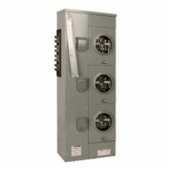 Square D EZML333225 MTRING EZML BRANCH RINGLESS 225A 3P QDP,208Y/120 V AC-240/120 V delta AC,225 A,Meter Center Branch Unit,Meter-Pak,NEMA 3R,UL Listed,lever bypass,ringless,surface