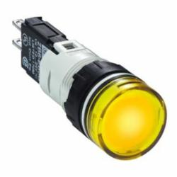 Schneider Electric XB6AV5BB PUSH BUTTON LIGHT MODULE 24V 16MM XB6,16mm Round,24V,AC15 - DC13,Harmony,LED (Yellow),NEMA 4/4X/12,Panel,Pilot Light,Quick Connect,UL Listed File Number E164353 CCN NKCR - CSA Certified File Number LR44087 Class 321103 - CE Marked,Water tight, Dust tight and Corrosion Resistant (Indoor/Outdoor),Yellow