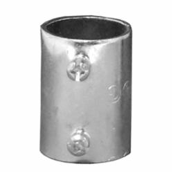 Appleton® 5075S ETP 5000S Set Screw Conduit Coupling, 3/4 in, For Use With EMT Conduit, Steel, Zinc Plated