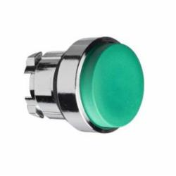 Schneider Electric ZB4BL3 PUSH BUTTON,22mm Round,Green Unmarked,Harmony,IP 65,Momentary,NEMA 1/2/3/4/4X/13,Non-Illuminated,Pushbutton Operator,Standard Button Extended,UL Listed File Number E164353 CCN NKCR - CSA Certified File Number LR44087 Class 321103 - CE Marked