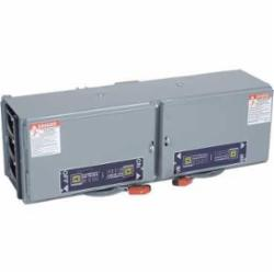 Square D QMB363T32W SWITCH, FUSIBLE QMB 600V 100-60A 3P TWIN,100-60A,200000 AIR,3-Pole,600VAC,Fusible Disconnect,Panel/Surface Mount,QMB,Steel,UL Listed,fuse-switch disconnector