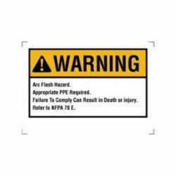 IDEAL 44-893 NEC ARC FLASH WARNING LBL 5X7