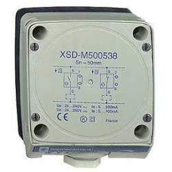 Schneider Electric XSDM600539H7 INDUCTIVE SENSOR 240VAC 500MA +OPTIONS,-,general purpose,-25...70 deg.C,100 mm,40 mm,form 80 x 80 x 40,plastic,100 mm,inductive proximity sensor,2.36 in (60 mm),<= 10 Hz,AC/DC,IP67,OsiSense,UL-CCC-CSA,inductive proximity sensor,non flush mountable,plastic,screw-clamp terminals