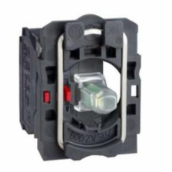 SQD ZB5AW0B12 WHITE 24V PROTECTED LED W/1 N/C CONTACT