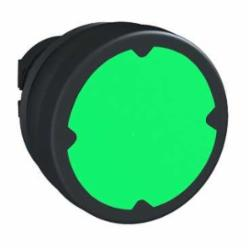 Schneider Electric ZB5AC380 22MM HARSH PB, GREEN, W/O MARKING,22 mm,harsh environment,Harmony XB5,black plastic,head for push-button,green,harsh environment,head for push-button,spring return