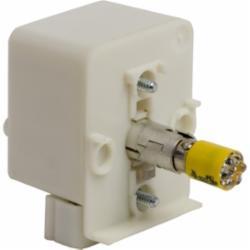 Schneider Electric 9001KM38LY 30MM LIGHT MODULE RESIST 120V LED YELLOW,120 V,Direct,Harmony,LED (yellow),Light Module,Light module for illuminating 30mm control units