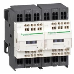 Schneider Electric LC2D093G7 REVERSING CONTACTOR 575VAC 9A IEC,120 V AC 50/60 Hz,16 A at <= 60 deg.C for power circuit-10 A at <= 60 deg.C for signalling circuit,mechanical,3 NO,3P,EN/IEC, UL, CSA,LC2D,motor control-resistive load,LC2D,reversing contactor,TeSys,TeSys D,rail-plate,spring terminals