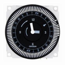 INT-MAT FM1QTUZ-120U 24-Hour Electromechanical Timer Module w/Battery Backup, 21A, SPDT