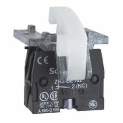 Schneider Electric XACS101 PENDANT STATION CONTACT 600VAC 10 A XAC,1 NO,10 A,Contact Block,EN/IEC, UL, CSA,Harmony,Harmony XAC,base mounting,screw clamp terminals,spring return
