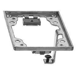 Wiring Device-Kellems SA5017G Rectangular Cover Flange With Ground Lugs, For Use With Flush Floor Box, Aluminum