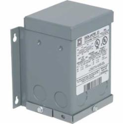 Square D 50SV82A TRFMR DRY 1PH .05KVA 240X480V-24/48V,105 deg.C,24/48VAC,240 x 480VAC,55 Degrees C,Buck and Boost - Primary use is that the primary and secondary can be interconnected for use as an autotransformer,Buck and Boost Transformer,Painted Steel NEMA 3R,Sealed and Resin Filled,Wall,cULus Listed