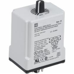 Square D 9050JCK47V20 TIMER RELAY 240VAC 10A T-JCK,11 Pin,120VAC - 110VDC,2 N.O./2 N.C. DPDT,One Shot 0.3 - 30 Minutes,Tubular,UL Listed File Number E78351 CCN NLDX - CSA Certified File Number 214768 Class 321107 - CE Marked,socket,timer