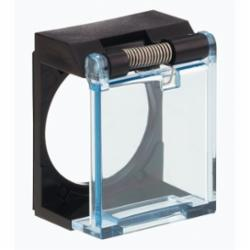Schneider Electric ZB6YA001 CVR/XB6A & XB6C 65168-023,16mm,Harmony XB6,circular button-square button,protective shutter,set of 1,protective shutter,shutter