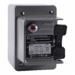 Square D 2510KW2B MANUAL SWITCH 600VAC K+OPTIONS,0.75 NPT (bottom) Screw Clamp,2HP@115VAC - 7.5HP@230VAC - 10HP@460/575VAC,3-Phase,30A,3P,600VAC/230VDC,K,NEMA 4,Non-Reversing Manual Switch,Provides manual ON/OFF control of single or three phase AC motors