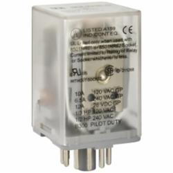 SQD 8501KPR12P14V20 RELAY 2CO CYL PIN 10A@240V 120VAC COIL LED