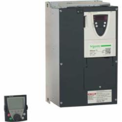 Schneider Electric ATV71HD22M3X SPEED DRIVE, 30HP, 230V, ATV71,208/240VAC,220 of nominal motor torque for 2 seconds, 170 for 60 seconds,22kW,3 phases,3-Phase,3-Phase,88A 30HP,AC Drive,AI1-/AI1+, AI2, AO1, R1A, R1B, R1C, R2A, R2B, LI1...LI6, PWR terminal 2.5 mmA? / AWG 14L1/R, L2/S, L3/T, U/T1, V/T2, W/T3, PC/-, PO, PA/+, PA, PB terminal 50 mmA? / AWG 1/0,Altivar 71,Altivar 71,Constant Torque,Frame 6,Graphic display keypad,IP20,Input 50/60 Hz,UL, CSA, CE, ABS, DNV, GOST, RoHS, WEEE, C-Tick, NOM 117