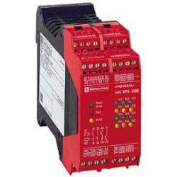 Schneider Electric XPSDME1132P SAFETY RELAY 300V 2.5A PREVENTA,15 LED Indicators -14 to 130 Degrees F,2 N.O. (Instananeous) 2 Solid State,28 V DC,35 mm symmetrical DIN rail,EN 954-1 Category 4 (Standard) - Category 3 (If wired in series),Preventa,Preventa Safety automation,coded magnetic switch monitoring,monitoring 6 coded magnetic switches,Preventa safety module,Terminal Block (removable) Screw Clamp