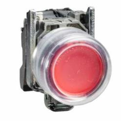 Schneider Electric XB4BP42 NON-ILLUM CLEAR BOOT-RED EXTENDED,1 NC,10A,22 mm,AC15 - DC13,Harmony XB4,NEMA 4/4X/13,Red,Screw Clamp,UL Listed File Number E164353 CCN NKCR - CSA Certified File Number LR44087 Class 321103 - CE Marked,Water tight, Dust tight and Corrosion Resistant (Indoor/Outdoor),chromium plated metal,complete push-button,complete push-button,slow-break,spring return