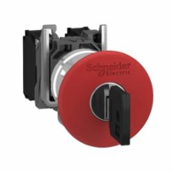 Schneider Electric XB4BS9445 PUSHBUTTON OPERATOR 22MM XB4B +OPTIONS,1 NO - 1 NC,10A,22mm Round,AC15 - DC13,Harmony,Maintained - Trigger Action - Key Release,NEMA 4/4X/13,Non-Illuminated,Non-Illuminated Pushbutton,Red,Screw Clamp,UL Listed File Number E164353 CCN NKCR - CSA Certified File Number LR44087 Class 321103 - CE Marked,Water tight, Dust tight and Corrosion Resistant (Indoor/Outdoor)