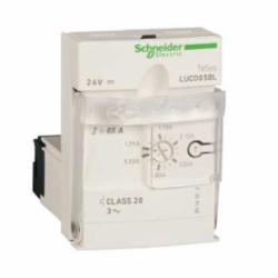 Schneider Electric LUCD05FU ADV.CNTRL.UNIT-CL20-3PH 1.25-5A 110-240VAC,-25...70 deg.C,1.25...5 A,110/240V,3-Phase,600 V conforming to CSA C22.2 No 14-600 V conforming to UL 508-690 V conforming to IEC 60947-1,IP40 front panel outside connection zone conforming to IEC 60947-1-IP20 other faces conforming to IEC 60947-1-IP20 front panel and wired terminals conforming to IEC 60947-1,LUCD,advanced control unit,protection against phase failure and phase imbalance-manual reset-protection against overload and short-circuit-earth fault protection,LUFN..-LUFDH11-LUFDA01-LUFDA10-LUFC00-LUFV2-LUFW10,basic protection and advanced functions, communication,Solid State (Class 20),TeSys,TeSys U,front side,plug-in