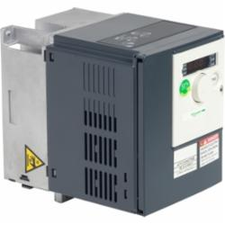 Schneider Electric ATV312H075S6 ATV312 1 HP 600V 3 PHASES,0.75kW,1.7A 1HP,3 Phase Input, 3 Phase Output,3-Phase,3-Phase,50/60Hz,575/600Vac,6,AC Drive,Al1, Al2, Al3, AOV, AOC, R1A, R1B, R1C, R2A, R2B, LI1...LI6 terminal 2.5 mmA? AWG 14L1, L2, L3, U, V, W, PA, PB, PA/+, PC/- terminal 5 mmA? AWG 10,Altivar 312,Altivar 312,IP20,Simple Machines Variable & Constant Torque,UL Listed, CSA Certified, CE Marked