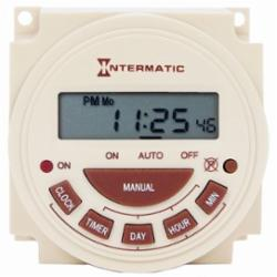 INT-MAT PB313EK Electronic 24Hr 120 VAC Replacement Clock Kit for Mechanical PB Clock