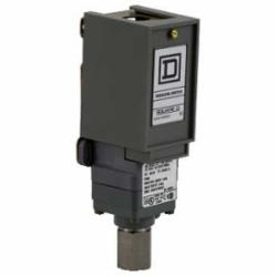Square D 9012GNG5 PRESSURE SWITCH 480VAC 10AMP G +OPTIONS,-10...185 F,0.25 inch 18 NPTF conforming to UL 508,0.5 inch NPT conduit entrance,120 operating cycles per minute (max),150 psi,3...150 psi,Fixed Differential,General Purpose (Indoor),NEMA 1,Pressure Switch,SPDT (isolated),Single Stage,UL, CSA, IEC, CE-marked,air-hydraulic oil (-40...250 deg.F)-non-corrosive gas-non-corrosive liquids