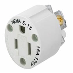 HUBW HBL15W47IN WT INTERIOR NEMA 5-15R 15A/125V